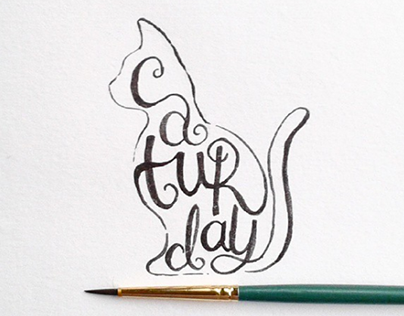Words in Shapes: an Instagram daily lettering project