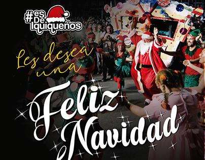 Navidad Iquiqueña / Saludo - redes sociales