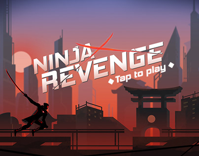 Game Art - Ninja Revenge