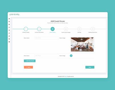 Stepper Form UI Design