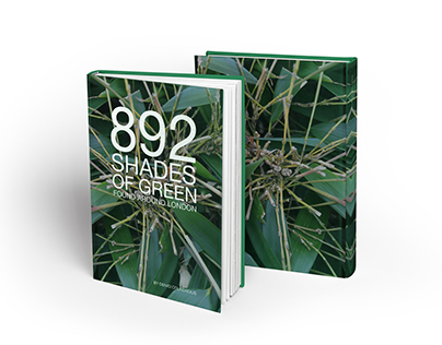 892 Shades of Green - Colour Reference Book
