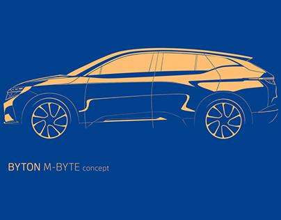 BYTON M-BYTE concept