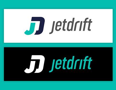 JetDrift logo design