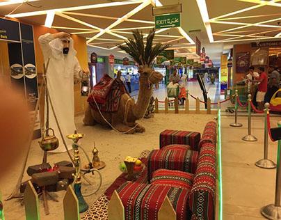 My art direction at LULU Hyper, Kuwait