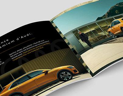 Leaflet, emailing et social media Audi Q8
