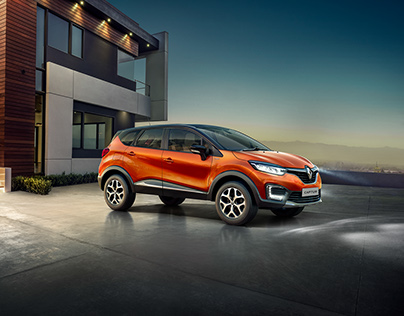 Renault India Captur Launch: CGI and Retouch