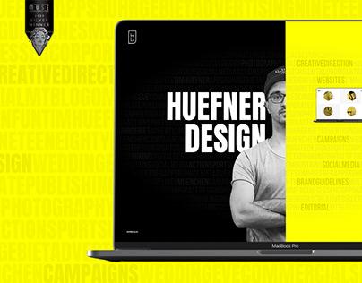 Huefner Design   Rebranding