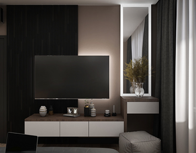 Bedroom design and visualizaion