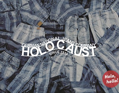 Holocaust 'talking brands project""