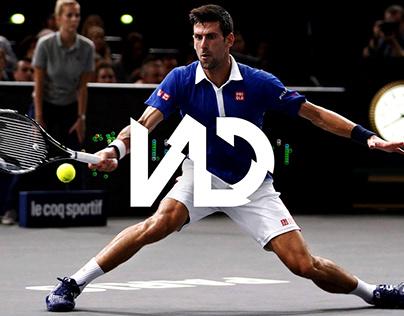 Novak Djokovic - Tennis Rebranding