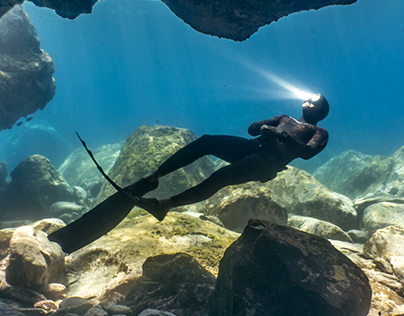 Freediving - pure beauty