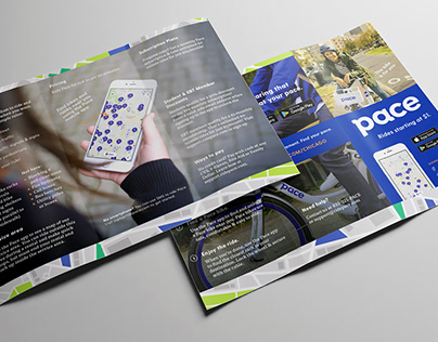 Pace Bike Share: Print Materials