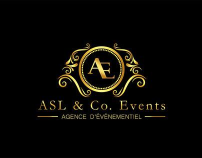 Création de logo d'une agence événementielle