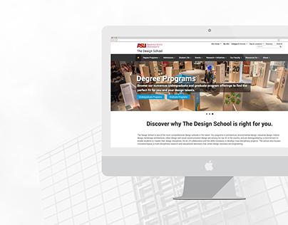 The Design School Website