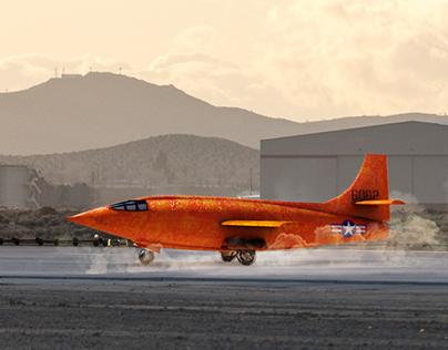 X1 Plane 3D Model