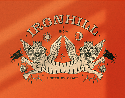 Ironhill Microbrewery | Visual Identity