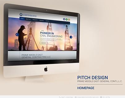 Pitch Design for Prime Middle East General Cont. L.L.C.