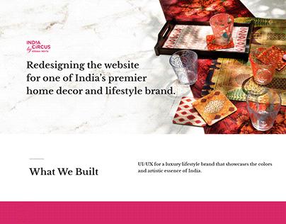 India Circus, E-commerce, Website