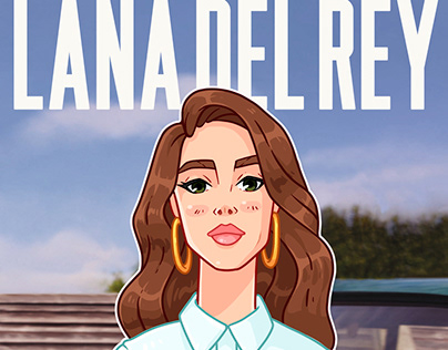 Lana Del Rey sticker pack