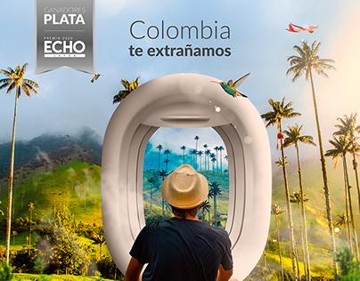 Colombia te extrañamos - Avianca