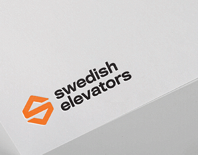 swedish elevators - logo design