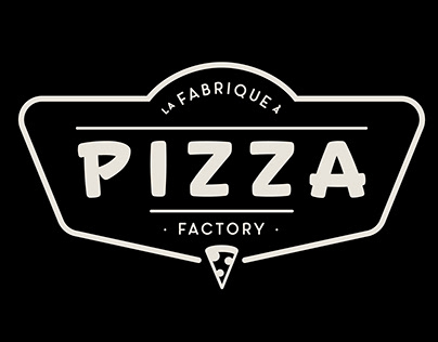Identité visuelle et packaging pour La Fabrique à Pizza