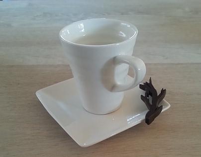 Praline chocolate design