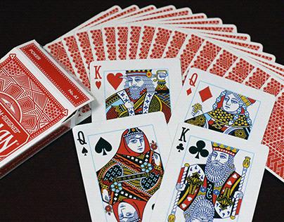 Arabesque Circle Back Card Deck