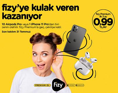 Turkcell fizy I Çekiliş Kampanyası