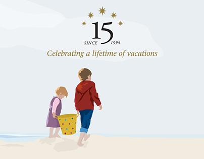 Anniversary Logo & Illustration