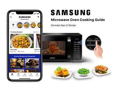 Samsung Microwave Over Cooking Guide App