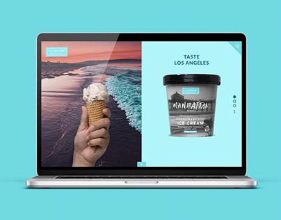 L.A. Creamery Website