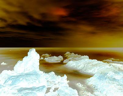 Byron Bay, Australia in the Ice Age