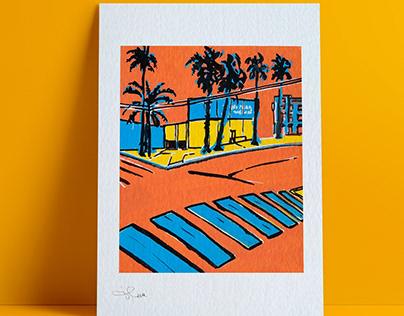 San Diego's street