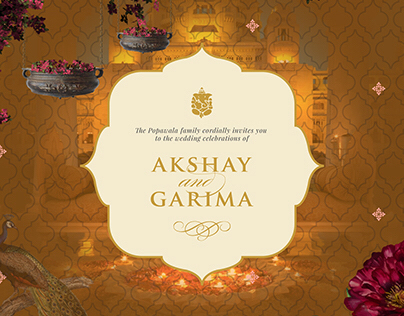 Akshay & Garima : Digital Wedding Invite