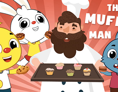 The Muffin Man | Kids Play Time | Kids Songs