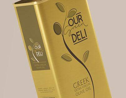 Our Green Deli - Olive Oil Branding