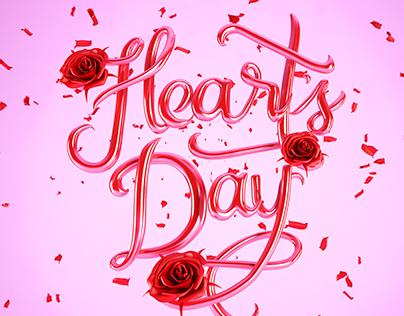 Happy Heart's Day 2017 (Valentine's Day)