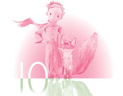 Little Prince Desktop Calendar 2020