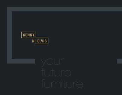 Visual Identity for Kenny'n'Elvis (New York/USA)