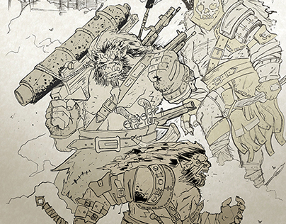 Orcs of the Badlands