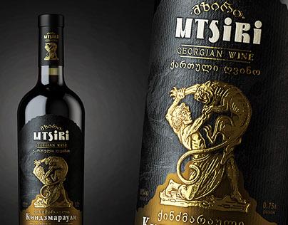 "Georgian wine ""MTSIRI"""