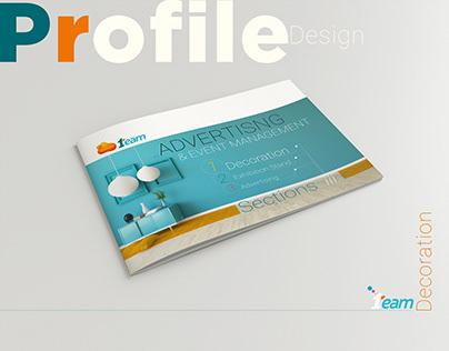 Profile design One Team Company Decoration