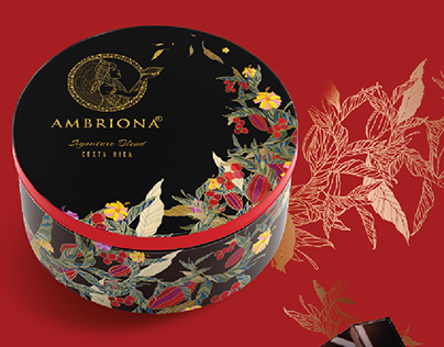 Ambriona chocolate packaging concept