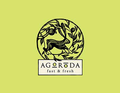 Logo&Brand Identity Agoroda Restofood