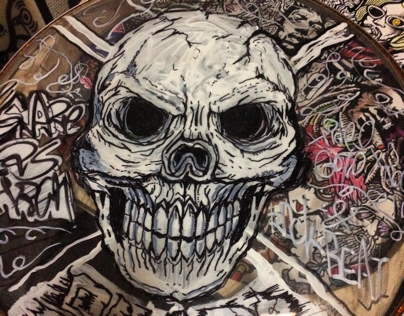 drawing the skull