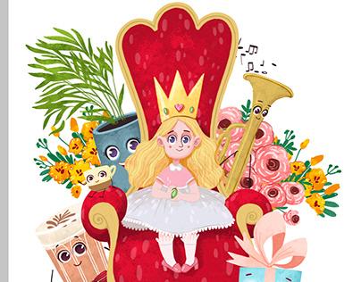 Queen of goodness/ Королева доброта