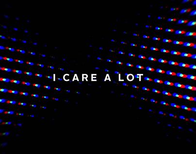 I Care a Lot // Titles & Graphics