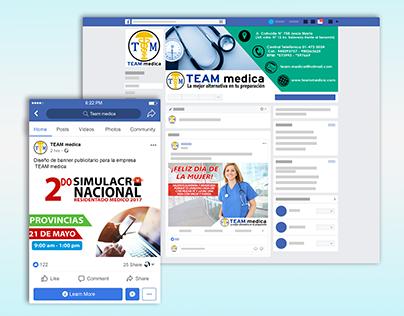COMUNITY MANAGER: TEAM MEDICA