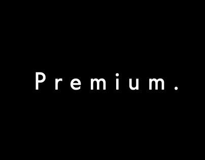 Premium channel font